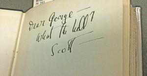 F. Scott Fitzgerald Inscription to George Jean Nathan