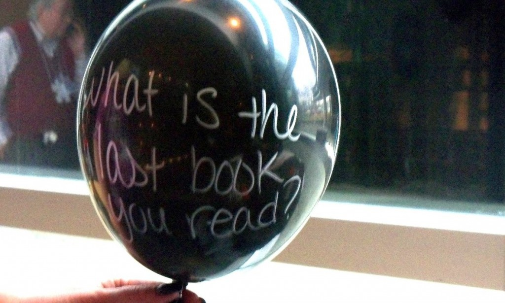 what is the last book you read balloon