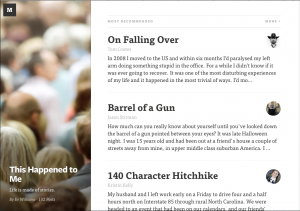 Medium, the new platform from Ev Williams, is meant for collaborative curation and creation.