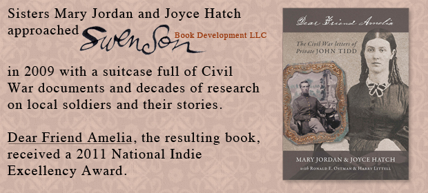 Featured Swenson Book Development authors Mary Jordan and Joyce Hatch