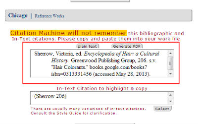 chicago endnote citation generator