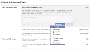 Take Control of Your Facebook Privacy