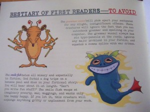 Bestiary of First Readers